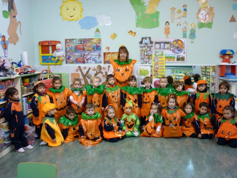 31 octubre 2012 nscarambiental for Decoracion otono infantil