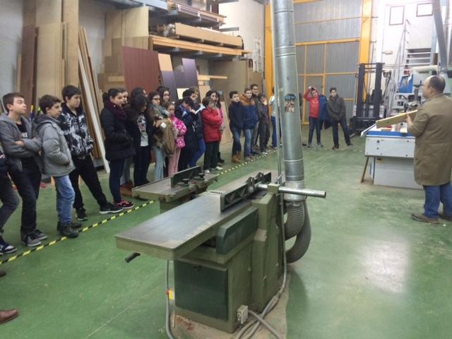 Visita a un taller de ebanister a nscarambiental for Taller de ebanisteria