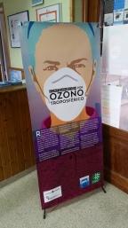 Jornadas ambientales: exposición de Ozono troposférico.