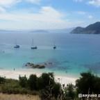 En tierras gallegas: archipiélago de las islas Cies