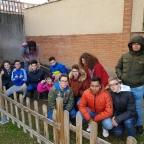 Plantación de ajos en Ntra. Sra. del Carmen en el Huerto Escolar.