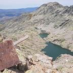 Subida a la Portilla de las Cinco Lagunas desde Garganta Bohoyo en Gredos