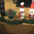 Adornos navideños con materiales reciclados en el Colegio Ntra. Sra. del Carmen